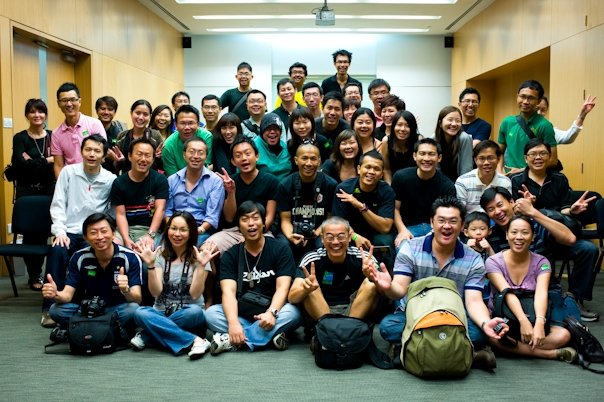Singapore Photographers Facebook Outing to National Museum 23 Aug 09